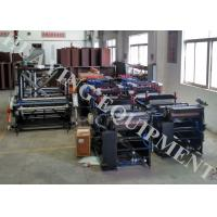 Quality Full Auto Pouch Making Machine Max Speed 160 p/m Middle Seal / Three Side Seal for sale