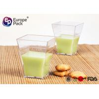 Wholesale Individual Plastic Dessert Cups 60Ml Mini Ps Plastic Pudding Cup from china suppliers