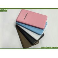 Wholesale Micro USB Power Bank 4000mAh , Portable Mobile Battery Charger Various Colors from china suppliers