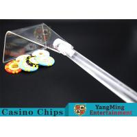 Wholesale Adjustable Casino Game Accessories Poker Chip Rake Built - In Detachable Design from china suppliers