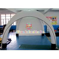 Wholesale Custom White Airtight Tent For Sporting Events / Inflatable Dome Tent Advertise from china suppliers