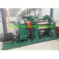 Wholesale 450mm OD Roller Rubber Calender Machine 1400mm Width With Adjustable Knife from china suppliers