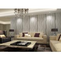Wholesale Removable Interior Room Wallpaper With Stripes For Sitting Room OEM Service from china suppliers
