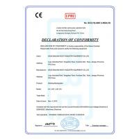 Wuxi Sanlian Heavy Industry Equipment Co.,Ltd Certifications