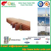 Wholesale Low Pressure Boiler Super Heater Alloy Steel , Pendant Superheater Customized from china suppliers