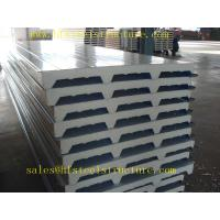 Wholesale Fiberglass Rockwool Prefabricated ISO CE Roof Wall PU EPS Sandwich Panel Price from china suppliers