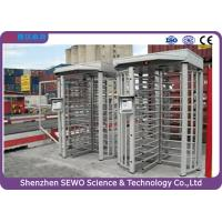 Quality High Quality Brushless Motor Single Channel Security Full Height Turnstile with RFID Card Reader for sale