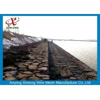 Wholesale Environmental Gabion Wire Mesh Gabion Wall Mesh For River Mattress from china suppliers