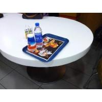 Quality High-End Corian Solid Surface Fastfood Table for sale