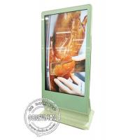 Wholesale 65inch Touch Computer Kiosk Wifi Digital Signage Floor Standing Touch Monitor with HDMI in, Media Player Box Inbuilt from china suppliers