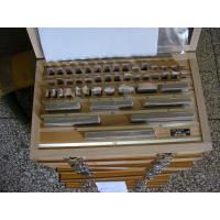 Wholesale Well grounded Precision Gauge Block Set with Carbide steel 47PCS  Metric System from china suppliers