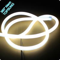 Wholesale 360 degree round led neon flex 16mm mini rope light 12V white color neonflex rope strip from china suppliers