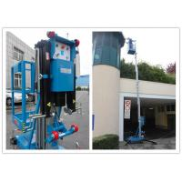 Wholesale Blue Vertical Single Mast Lift 8 Meter Working Height For Factory Working from china suppliers