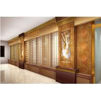 Wholesale Golden stainless steel Wall decoration hollow carved screen European style iron customized by China manufactuer from china suppliers