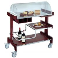 Wholesale Hotel Pastry Cart with Wine Holder-Dessert Cart from china suppliers