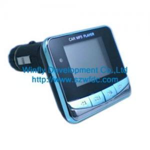China 1.4 screen car kit mp3 player , China car mp3 wholesaler on sale