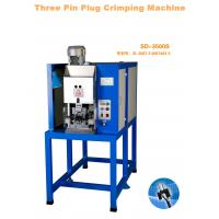 Buy cheap 3 Pin Thailand Plug Insert With Insulation Thailand Plug Crimping Machine from wholesalers