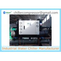 Wholesale 30hp Shell and Tube Evaporator Water Cooled Scroll Water Chiller from china suppliers