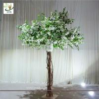 Wholesale UVG Floor standing artificial cherry blossom wedding decoration trees for stage decor from china suppliers