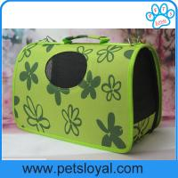 Wholesale Foldable Dog Carrier Bag Pet Carrier Bag Portable Design For Pet Traveling from china suppliers