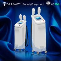 Quality safe high quality Nubway Vertical IPL SHR&E-light hair removal equipment&machine for hot for sale