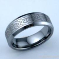 Quality Celtic Tungsten Carbide Ring for sale