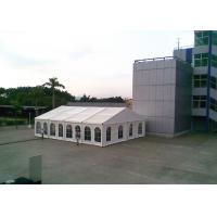 Wholesale Quick Assembly PVC Fabric White Marquee Tent For Outdoor Activities / Conference from china suppliers