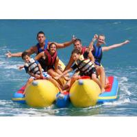 Wholesale Single / Double Tube Inflatable Flying Fish Boat Yellow Inflatable Banana Boat from china suppliers
