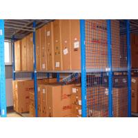 Buy cheap Hot Dip Galvanized Steel Automotive Rack With Multi Layer Mezznanine Floor from wholesalers
