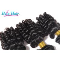 Wholesale Natural Black Brown Mongolian Hair Weave No Tangle 1.5m-2m Width from china suppliers