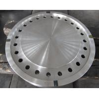 Wholesale Forged Disc Tube Sheet Finish Machined For Heat Exchanger , Stainless Steel Brake Discs from china suppliers