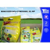 Wholesale MANCOZEB 64% + CYMOXANIL 6% WP Pesticide Mixture 8018-01-7 57966-95-7 from china suppliers