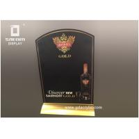 Wholesale Metal Restaurant Menu Holders , Liquor Brand Desktop Display Durable Set Of Two from china suppliers