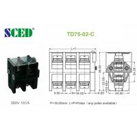 Wholesale Copper Conduction Board Screw Terminal Block 300V 101A 16.00mm from china suppliers