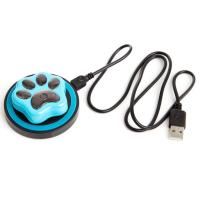 Wholesale smallest mini IP66 waterproof smart pet gps tracker for cat/dog/cow with wireless charging from china suppliers