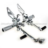 Wholesale Durable Adjustable Ducati 1098 Rear Sets Aggressive Rider Position from china suppliers