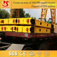 Wholesale CE&ISO Certificate 1ton-30ton factory and workshop used bridge crane end carriage from china suppliers