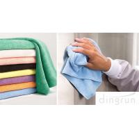 Wholesale OEM Welcome Colorful  Custom Microfiber Towels Dry Fast Use Soft from china suppliers
