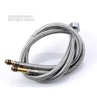 Wholesale ZYD-B03 304 Stainless Steel Wire flexible braided Knitted hose for wash basins inlet hose/kitchen sinks from china suppliers