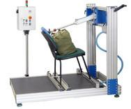 Wholesale Electronic Back Cyclic Furniture Testing Machines , Office Chair Back Durability Tester from china suppliers