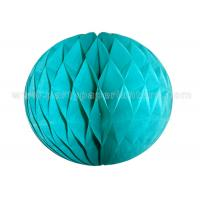 Wholesale Customized Colorful Round Paper Honeycomb Balls 6-18 Inch 100% Handmade from china suppliers