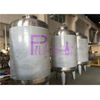 Wholesale 12TPH Fiberglass Housing RO Water Treatment System With Aseptic Water Storage Tank from china suppliers