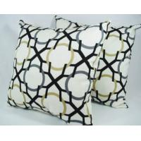 Wholesale Soft Decorative Couch Throw Pillows , Pisces Printed Cotton Sofa Cushion from china suppliers