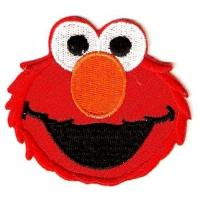 Wholesale Elmo Head Embroidered Sesame Street Iron On Sew On Patch from china suppliers