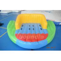 Wholesale 0.9mm PVC Tarpaulin Inflatable Towable Boat For Lake from china suppliers