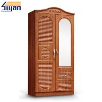 Wholesale Custom Interior Wooden Louvered Doors Mirrored Front With MDF Board Materials from china suppliers