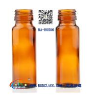 Quality 50ML amber glass bottle for syrup for sale