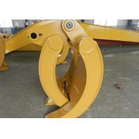 Wholesale Wearable Steel Mechanical Excavator Grapple Bucket with Rod from china suppliers