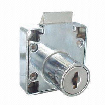 Slam Lock Zinc Alloy Cabinet Lock Desk Drawer Lock With