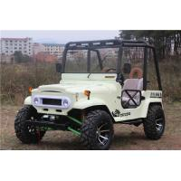 Buy cheap Fully Automatic Air Cooled Adult Mini Jeep Willys With 250cc / 300CC GY6 Engine from wholesalers
